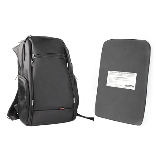 NIJ IIIA Large-capacity Kingsons Bulletproof Backpack with USB Charging Port