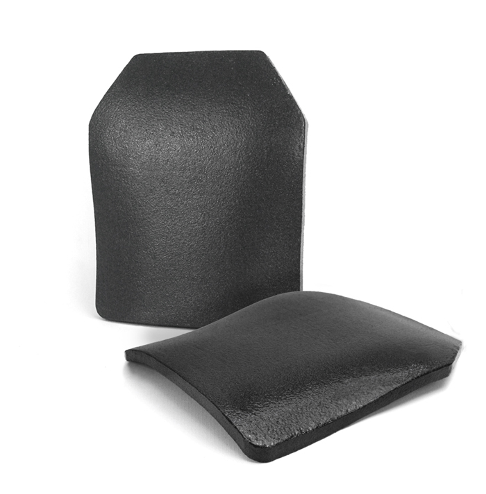 NIJ IIIA PE Hard Armor Plate with Triple Curved STA