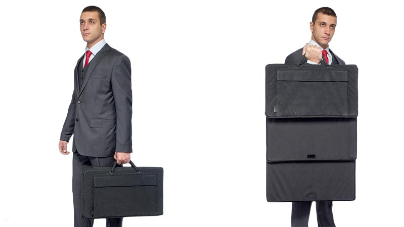 Bulletproof Briefcase Shield - NIJ IIIA