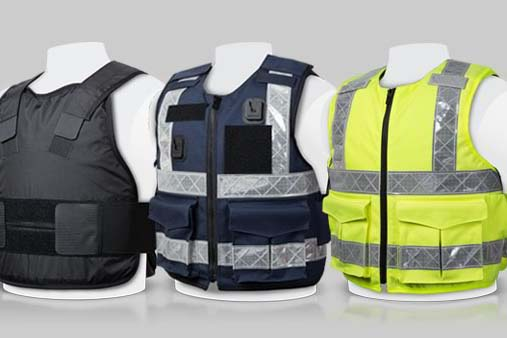 Different Kinds of Stab Proof Vests