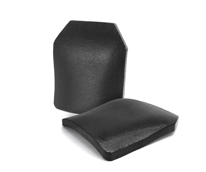 NIJ III Silicon Carbide Hard Armor Plate with Triple Curved STA