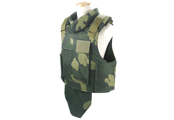 NIJ IIIA Military Ballistic Vest-Side